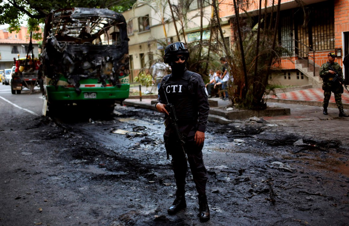 TERRORISMO COLOMBIA AFP