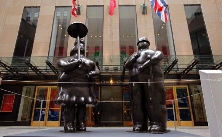 Botero éxito Redondo En Subastas De Arte En Nueva York El Nuevo