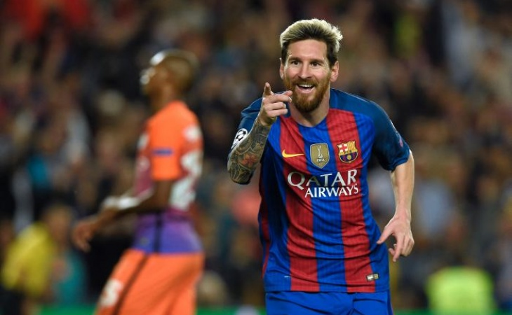 Messi cumple 700 partidos con la camiseta del Barcelona  22870c6c219