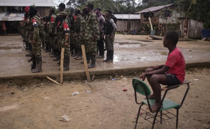 33 años: grupos armados reclutaron 7.398 menores