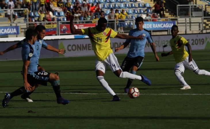 Colombia aseguró su tiquete al Mundial Sub-20