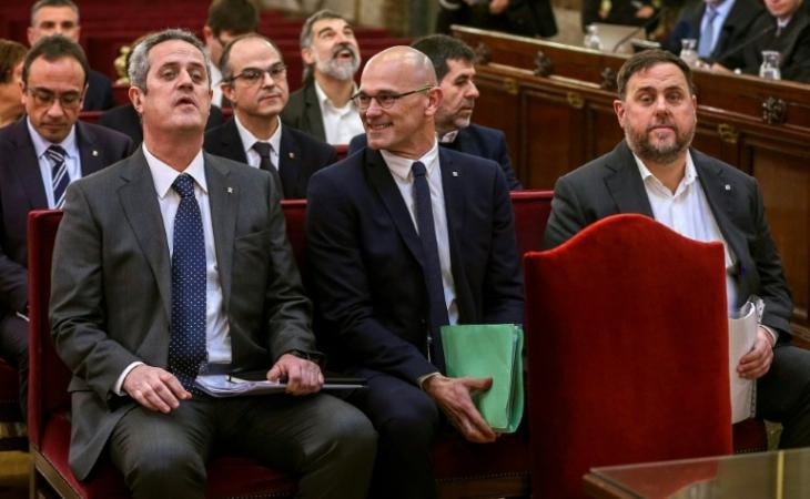 Arranca en España el histórico juicio a separatistas catalanes