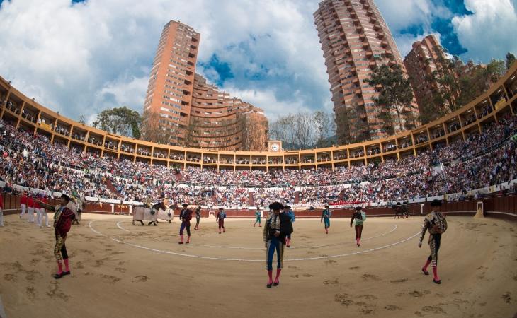 La afición se desbordó en Bogotá