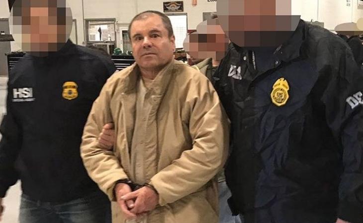 Por narco, cárcel de por vida para El Chapo