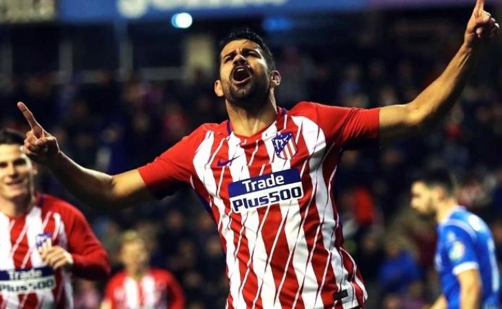 Diego Costa regresa a los entrenamientos del Atlético de Madrid
