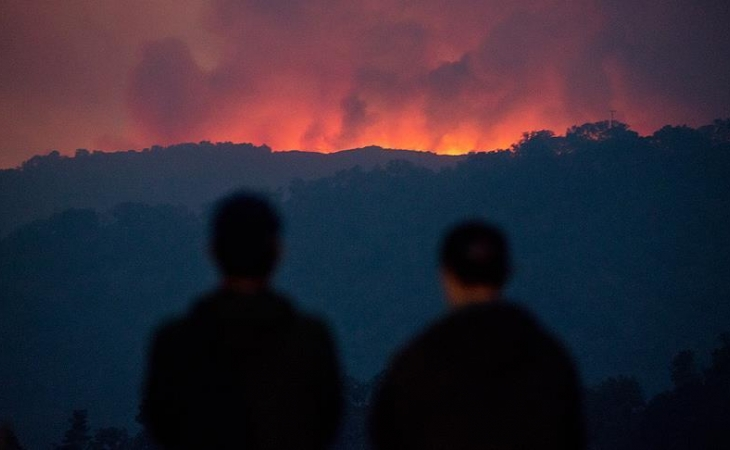 Cerca de 3.000 evacuados por incendio forestal en Nueva Zelanda