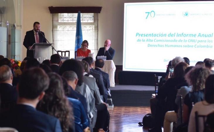 Masacres en Colombia aumentaron 164% : ONU