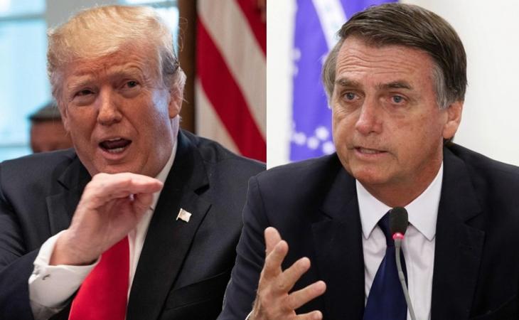 Bolsonaro visitará a Trump para firmar tres acuerdos