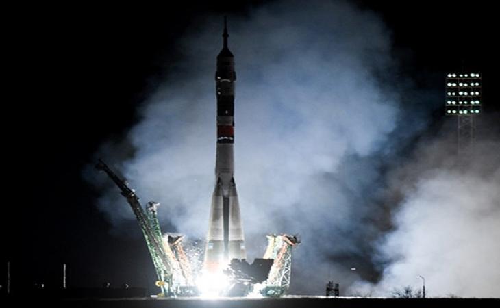 Soyuz va rumbo a Estación Espacial Internacional