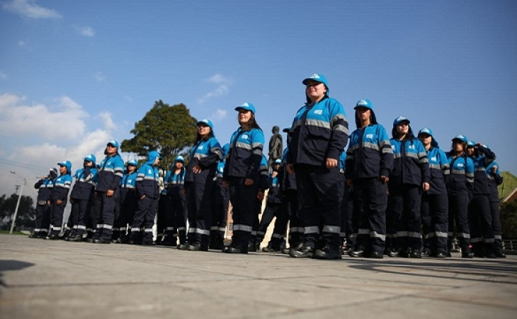 500 guardianes para defender  espacio público