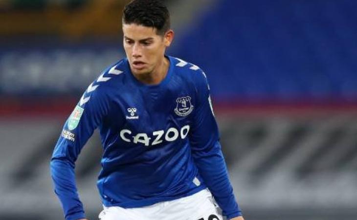 Continuará por fuera, James Rodríguez no estará en el encuentro ante Leicester