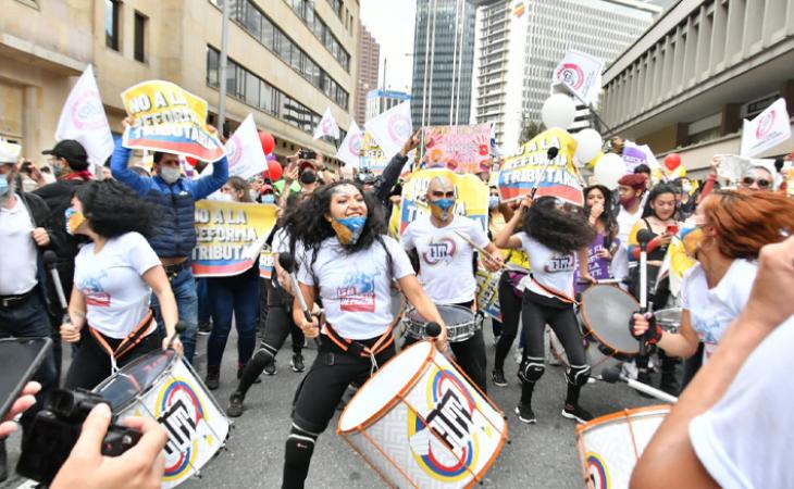 Comité de Paro anuncia suspensión temporal de protestas — Colombia