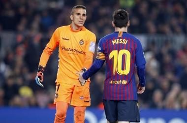 Messi consolida su primer puesto en goleadores de España