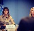 Melania Trump en la frontera
