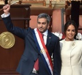 MarioAbdo asumio presidencia de Paraguay