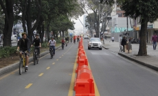 Suman 12,9 kms a carriles exclusivos para ciclistas