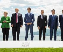 Problemas en cumbre del G-7