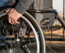 Discapacitado.
