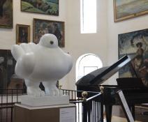 Paloma de la Paz de botero