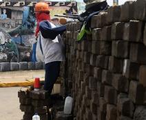 Represion en nicaragua