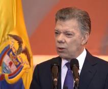 Discurso de Santos al instalar Congreso