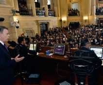 Mensaje de Santos al instalar Congreso