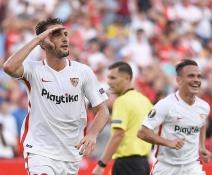 Sevilla regresó a la Europa League con goleada