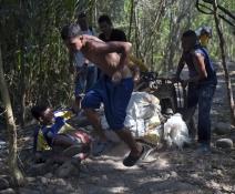 La vida al límite en la frontera colombo venezolana